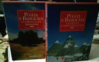 Patruno PUGLIA E BASILICATA 2 volumi ed. Banca pop. di Bari 1996 in cofanetti
