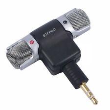 Computer Mini Microfono Portabile Cellulare Karaoke Audio Voce 3,5 Stereo ud