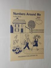 Ann Bond Numbers Around Me Book 1 Vintage Young Children's Learning. 1971