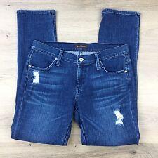 JamesJeans Neo Beau Genevieve Boyfriend Distressed Women's Jeans Sz 30 W33 (SS1)