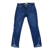 Ann Taylor Loft Women's Jeans 27/4 Modern Skinny Mid Rise Blue Dark Wash Stretch