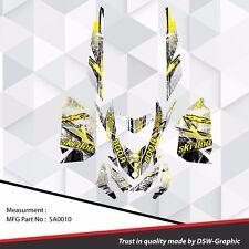 SKI-DOO XP MXZ SNOWMOBILE SLED WRAP GRAPHICS STICKER DECAL KIT 2008-2013 SA0010