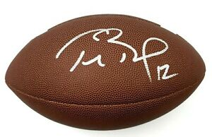 Tom Brady Tampa Bay Buccaneers Hand Signed Autographed Full Size Football COA