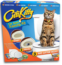 Citikitty Cat Toilet Seat Training System - Save $ Upc Code: 858878002004