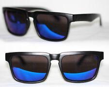 Sport Sonnenbrille Herren matt schwarz weiß rot blau gold grün verspiegelt 868