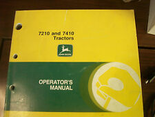John Deere Tractor Operator'S Manual 7210 And 7410 Tracotrs Issue G6