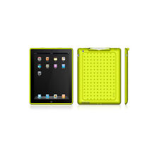 Macally PenCase Protective Case & Stylus For iPad 2 - Green