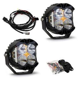 Baja Designs® LP4 Pro LED Driving/Combo Clear Lens Pair