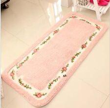 Rose Pattern Bedroom Carpet,Floral Carpet Area Rug,Living Room Rugs  for Kids
