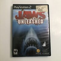 Jaws Unleashed (Sony PlayStation 2, PS2)  No Manual