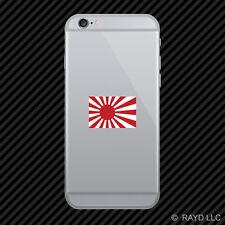 Japan Rising Sun Flag Cell Phone Sticker Mobile japanese rising sun naval