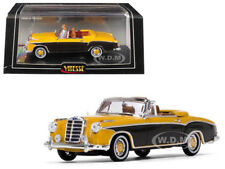 1958 MERCEDES BENZ 220 SE CABRIOLET YELLOW 1/43 DIECAST MODEL BY VITESSE 28626