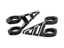 CNC Aluminium 50 - 51mm Motorbike Motorcycle Headlight Brackets HIGH QUALITY