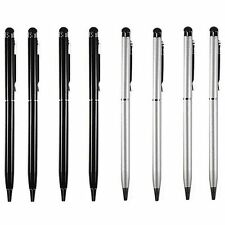 8X Universal 2-in-1 Touch Screen Stylus + Ballpoint Pen for iPhone Pad PC Tablet