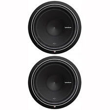 Rockford fosgate 15 car subwoofers for sale ebay pair of 2 rockford fosgate punch p1 15 1000w 4 ohm svc subwoofers publicscrutiny Gallery