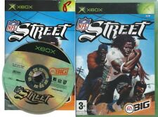 NFL STREET (1) ONE N F L AMERICAN FOOTBALL=X BOX XBOX=WITH INSTRUCTIONS UK