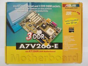 Asus A7V266-E Socket 462/A in Box! /w AMD Athlon XP 1800+ and 1GB DDR RAM!