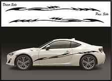 CAR SIDE STRIPE KIT - TRUCK / SUV RACING SPORT DECALS - SCION - FITS ALL VEHICLE