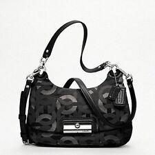 Coach 18281 Kristin Chainlink Metallic Lurex Hippie Bag/Purse/Satchel/CrossBody