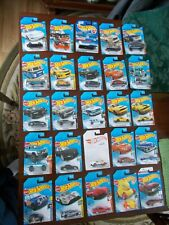LOT OF 25 HOT WHEELS CARS IN PACKAGES MANY NEW FROM 2019-2021  #8