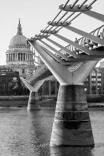 A3 Photo Print: Millennium Bridge, London