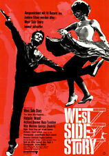 West Side Story ORIGINAL DIN A1 Kinoplakat Jerome Robbins / Natalie Wood MUSICAL