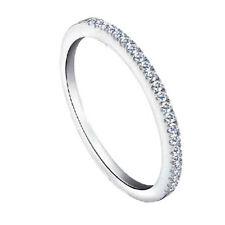 Elegant Shape Ring Band Tip Finger Stacking Micro Zircon Rin Attractive Design Q