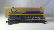 Postwar 1958 Lionel Trains 2505W Virginian Locomotive 2329 Super O Boxed Set