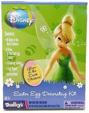 Disney Tinkerbell Easter Egg Decorating Coloring Kit by Dudleys Glow In The Dark