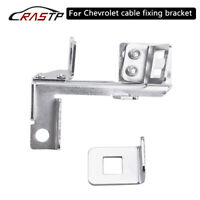 Throttle Cable Kickdown Bracket for Chevy SBC BBC Holley Kick Down Chrome Gm