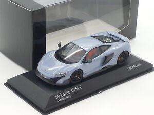 New 1:43 Minichamps McLaren 675T 1/200 n P1 720S V8 Turbo F1 650S 12C Coupe