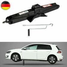2T Auto Scherenwagenheber Wagenheber Lift mit Handkurbel Für PKW/SUV/MPV Schwarz
