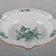 Meissen Ashtray Flowers Bouquet, copper green, First Quality, TOP