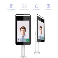 Fever Detection Face Recognition Temperature Scanning IP System Access Terminal