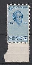 FRANCOBOLLI 1935 REGNO BELLINI L. 1,25 MNH Z/3297