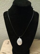 Silver Oval Locket Photo Pendant Necklace - Free Shipping