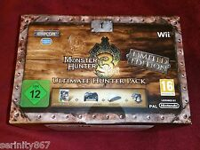 MONSTER HUNTER 3 Tri Ultimate Hunter Pack Limited Edition (Nintendo Wii)