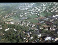 LE CHESNAY (78) QUARTIER SAINT-ANTOINE / STADE & VILLAS en vue aérienne