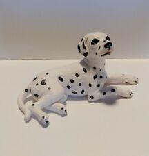 Schleich 1997 Dalmatian Dog Lying Down Figure