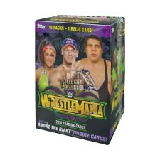 2018 Topps WWE Wrestling Road to Wrestlemania 10ct Blaster Box