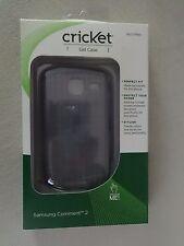 Cricket Samsung Comment 2 Gel Case Smoke SKU CTP991 Brand New