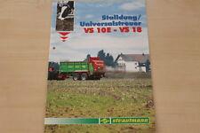 158490) Strautmann Universalstreuer VS 10 E - 18 Prospekt 03/2007