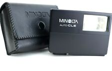 Minolta Auto CLE Flash For Minolta CLE Camera wIth case