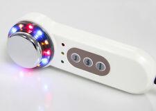 3in1 Ultrasonic Ultrasound Massager Photon Skin Rejuvenation LED Light With Heat