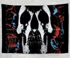 wall hanging  skeleton Skull  ghost tapestry cloth poster wholesale decor