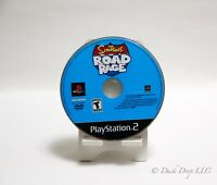 The Simpsons Road Rage Black Label Playstation 2 PS2 Disc Only Tested NTSC-U/C