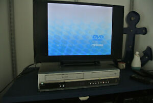 Toshiba D-VR5SU DVD VCR Combo Player Recorder VHS to DVD No Remote HDMI TESTED