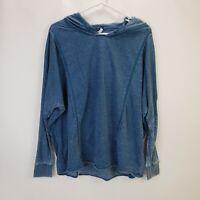 Z Supply Weekender Baggy Beach Surf Distressed Pullover Hoodie Sweater Jacket S
