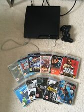 sony playstation 3 slim console With 11 Games
