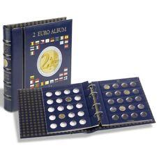 Leuchtturm Münzalbum VISTA, für 2-€-Münzen, 4 Münzblätter + Kassette  (341017)